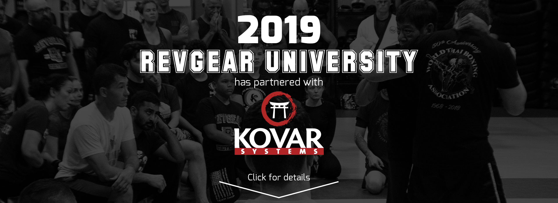 2019 Revgear University has partnered with Kovar Systems